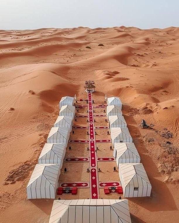 Assapora una notte nel deserto in tutta comodità